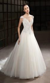4bbbce0c6a Cosmobella menyasszonyi ruha - Almássy Éva Prémium esküvői ...