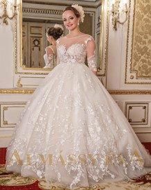 fa760f04586 ALMÁSSY ÉVA PRÉMIUM Esküvői ruha, menyasszonyi ruha - Almássy Éva ...